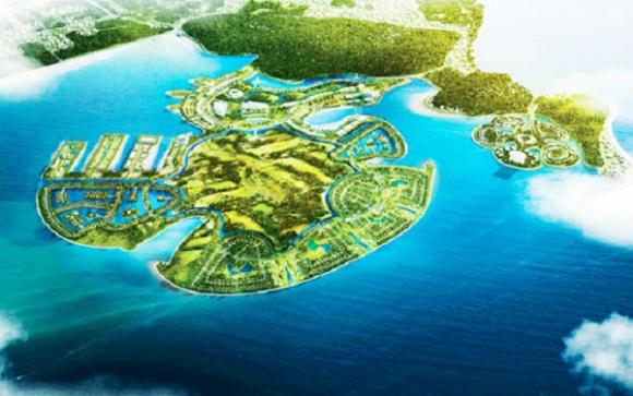Dự án khu du lịch Quốc tế Đồi Rồng có tổng mức đầu tư dự kiến hơn 25.000 tỷ đồng