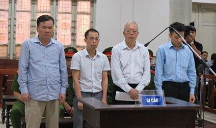 Các thuộc cấp của Trịnh Xuân Thanh vào tù do những sai phạm trong dự án PVTex.