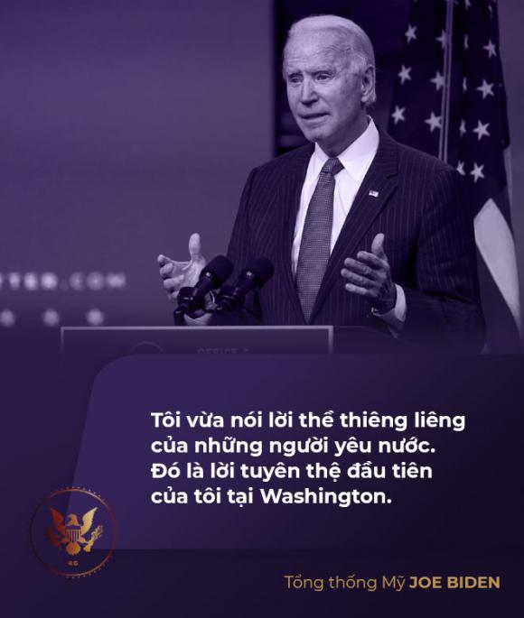 Toàn văn phát biểu nhậm chức của tân Tổng thống Mỹ Joe Biden - Ảnh 3.