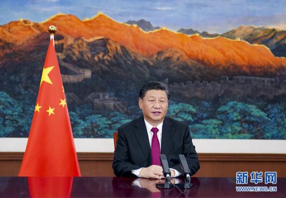 Ông Tập Cận Bình phát biểu trước Davos: Phản đối ỷ mạnh hiếp yếu - Ảnh 1.