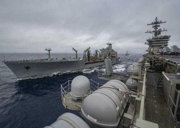 Ngay sau khi ông Biden nhậm chức, Mỹ đưa cụm tác chiến tàu sân bay tới Biển Đông đối phó Trung Quốc ảnh 2