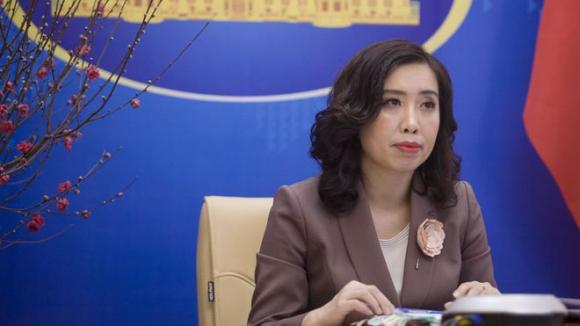 Người phát ngôn Bộ Ngoại giao Lê Thị Thu Hằng /// Ảnh BNG