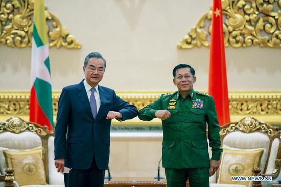 Thông điệp mạnh của ông Vương Nghị về chính phủ Myanmar trước khi bà Aung San Suu Kyi bị bắt đột ngột - Ảnh 2.