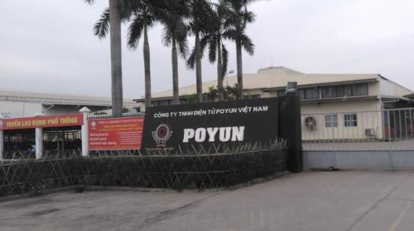 Poyun Việt Nam chuyên sản xuất linh kiện của loa và các thiết bị âm thanh (Nguồn: Internet)