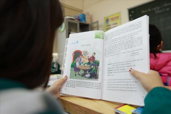 Giờ học của học sinh một trường Tiểu học ở Hà Nội. Ảnh: Hải Nguyễn