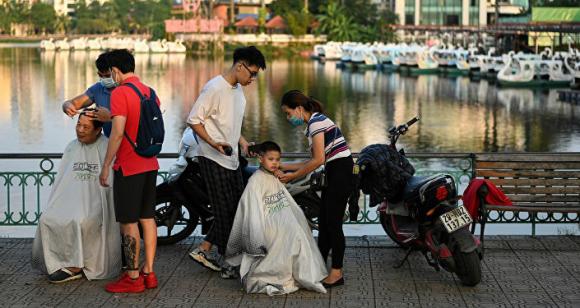 Hồ Trúc Bạch ở Hà Nội