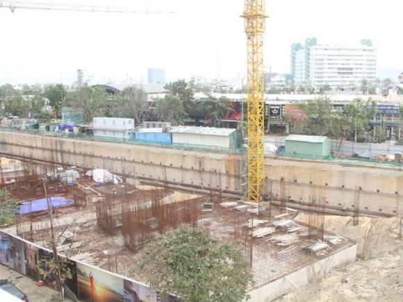 Công trình xây dựng dự án Trung tâm thương mại - dịch vụ và căn hộ I-Tower Quy Nhơn /// BẢO THOA