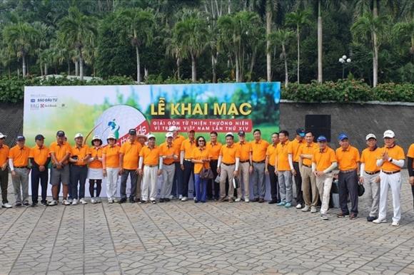 Giải golf từ thiện thường niên Vì trẻ em Việt Nam lần thứ 14 – Swing for the Kids 2020 có sự tham dự của hơn 155 golfer. Ảnh: Thuý Hà