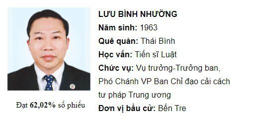 Ông Dương Trung Quốc và Lưu Bình Nhưỡng không tái cử, ông Trương Trọng Nghĩa tự ứng cử ĐBQH - ảnh 2
