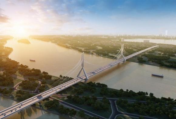 Hà Nội đề xuất chi 26.000 tỷ đồng làm 2 cầu qua sông Hồng - Ảnh 1.