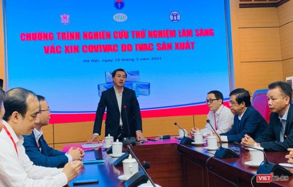 Chính thức tiêm thử nghiệm vaccine COVID-19 do Việt Nam nghiên cứu và sản xuất tại Đại học Y Hà Nội ảnh 2