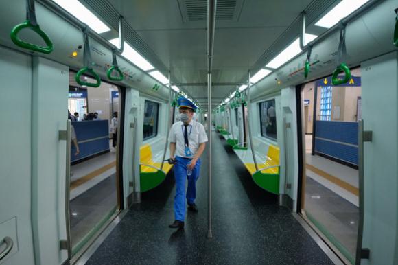 Bắt đầu kiểm đếm, tiếp nhận hồ sơ, tài sản để bàn giao đường sắt Cát Linh - Hà Đông - Ảnh 3.