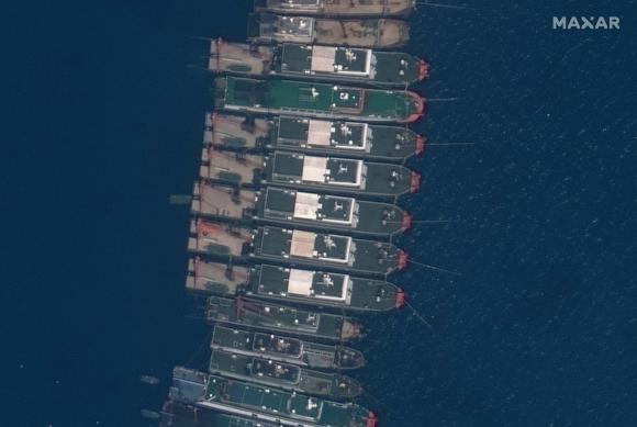 Tàu Trung Quốc ở Biển Đông.