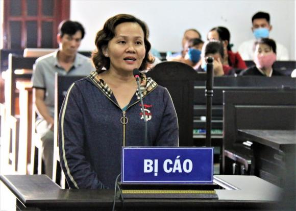 Bị cáo Nguyễn Thị Thu Hòa