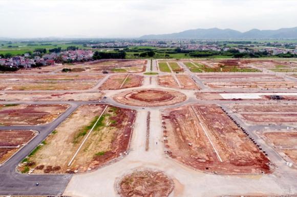 Khu đô thị Nam Bắc Giang do Xây dựng Tân Thịnh thi công hạ tầng. Ảnh minh họa: N.C.
