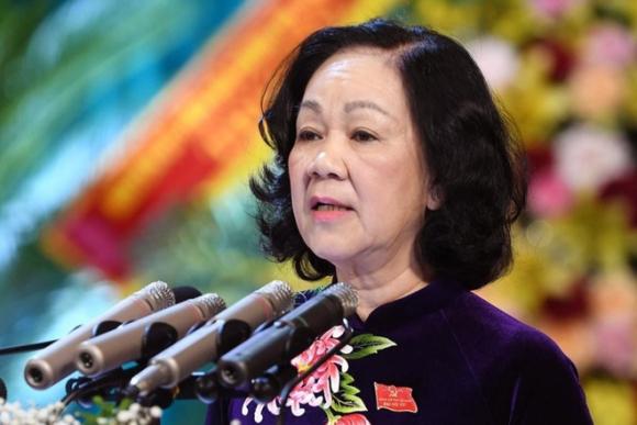 Chân dung 3 nữ lãnh đạo phụ trách cao nhất ngành tổ chức cán bộ của Đảng, Quốc hội, Chính phủ - Ảnh 1.
