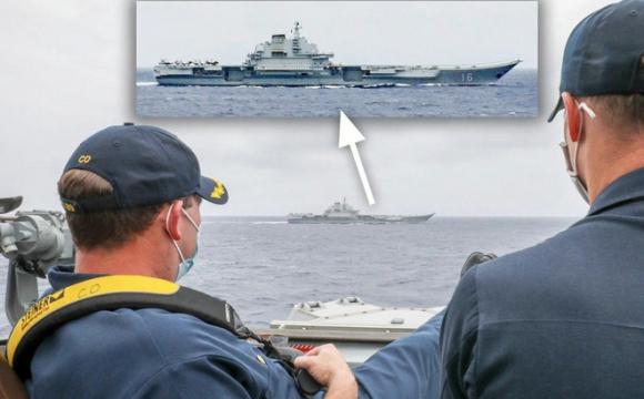 Không thấy bẽ mặt, TQ tự tin tôn vinh bức ảnh chỉ huy Mỹ ung dung gác chân ngắm tàu Liêu Ninh: Bắc Kinh có ý gì? - Ảnh 1.