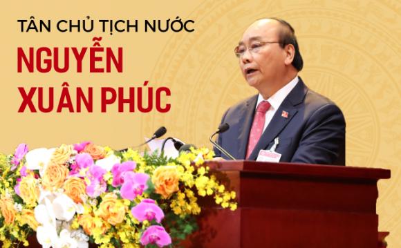 Con đường sự nghiệp của tân Chủ tịch nước Nguyễn Xuân Phúc