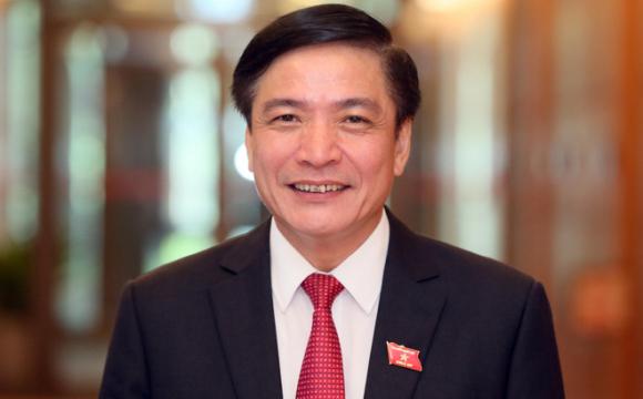 Bí thư Tỉnh ủy Đắk Lắk Bùi Văn Cường được đề cử bầu Tổng Thư ký Quốc hội