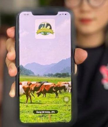 """Hàng ngàn nhà đầu tư sập bẫy app """"trang trại tiết kiệm"""" ngày 1.4 ẢNH: TRẦN TIẾN"""