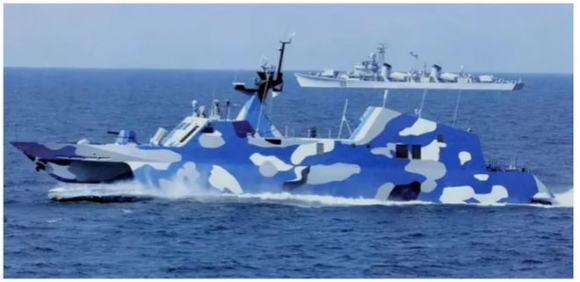 3 tàu tên lửa Trung Quốc bị phát hiện tại Trường Sa - ảnh 1