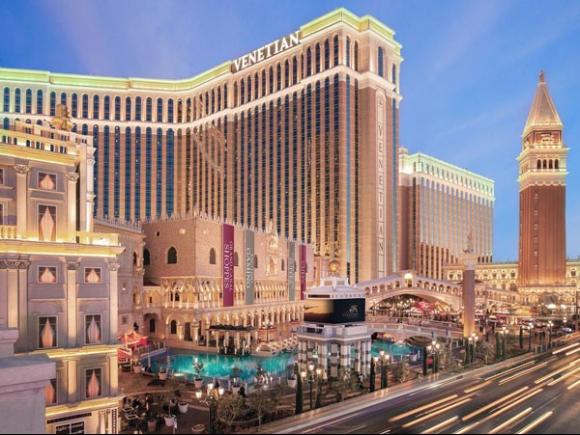 Khách sạn The Venetian - một trong những dự án khủng đẳng cấp của nhà tài phiệt Mỹ.