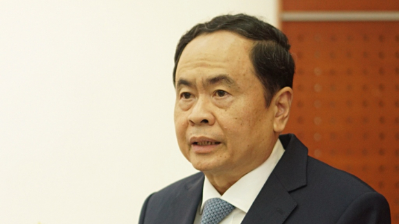 Phó chủ tịch thường trực Quốc hội Trần Thanh Mẫn phát biểu chỉ đạo hội thảo /// Ảnh Gia Hân