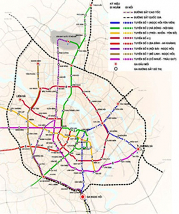 Hà Nội dừng giao cho Vingroup nghiên cứu tuyến đường sắt đô thị số 2 - Ảnh 1.