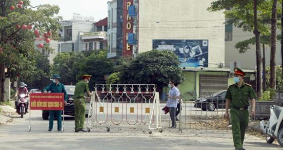COVID -19: Vĩnh Phúc lập 9 chốt cách ly y tế khu đô thị Đồng Sơn phòng, chống dịch