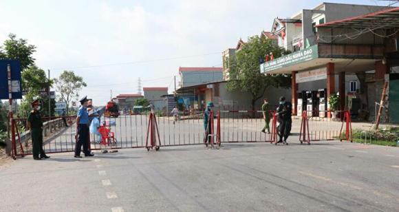 Bắc Ninh thành lập 4 chốt кiểм soáᴛ dịcʜ COVID-19 ra vào huyện Thuận Thành
