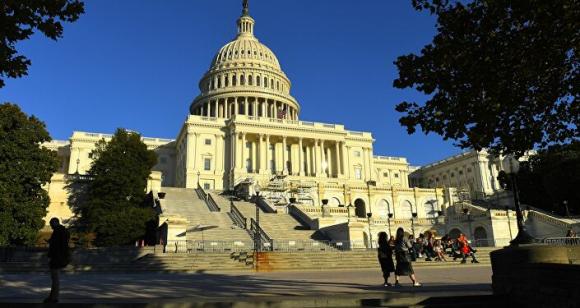 Tòa nhà Capitol trên Đồi Capitol ở Washington DC