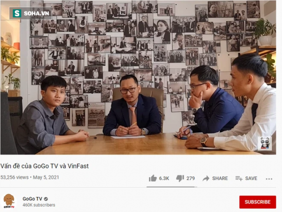 Chủ kênh GoGo TV lên tiếng sau khi VinFast gửi đơn tố cáo tới cơ quan công an - Ảnh 1.