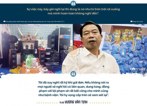 """Tiến sĩ - Bác sĩ Vương Văn Tịnh, nguyên Giám đốc Bệnh viện ᴛâm ᴛhần T.Ư 1:""""Tôi không đáng bị cách chức"""" - Ảnh 5."""