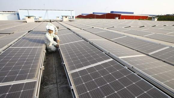 Việt Nam đã có hơn 7.700 MW điện mặt trời mái nhà /// Ảnh Ngọc Thắng