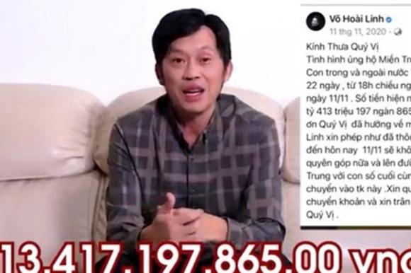"""Hoài Linh, với việc """"ngâm"""" hơn 14 tỉ tiền từ thiện đã dạy cho chúng ta rất nhiều bài học. Ảnh: cắt từ clip"""
