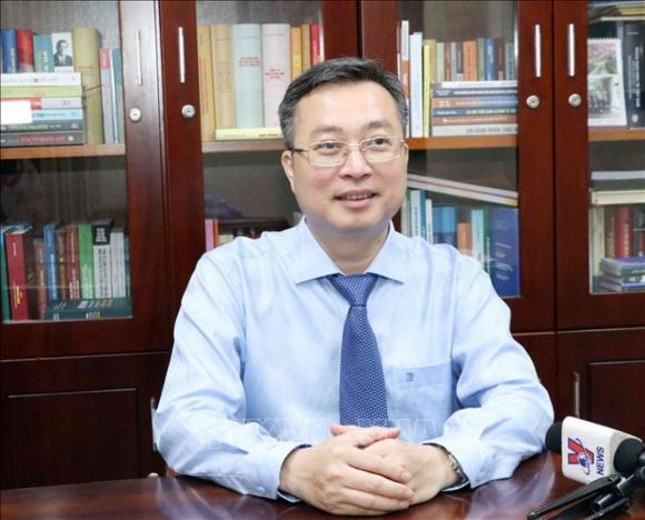 Ông Bùi Trường Giang- Phó Trưởng Ban Tuyên giáo Trung ương.