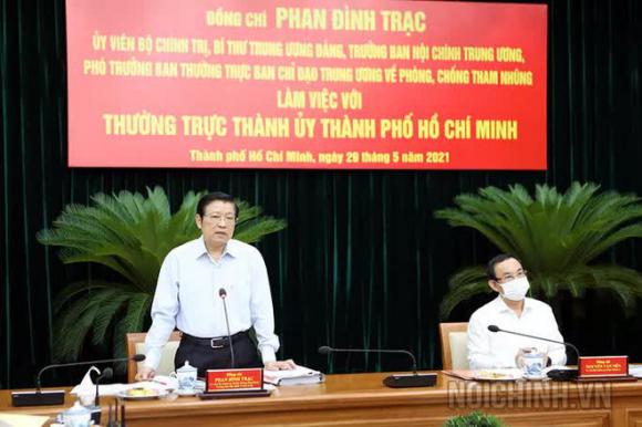 Trưởng Ban Nội chính Trung ương đề nghị đẩy nhanh xử lý các vụ việc lớn tại Thủ Thiêm, SAGRI, Tân Thuận - Ảnh 2.