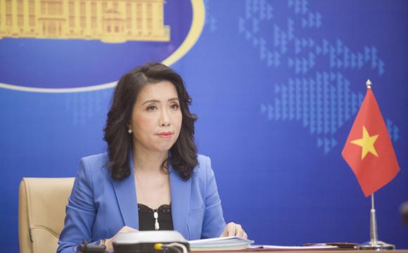 Việt Nam lên tiếng việc Trung Quốc tuyên bố ᴛrục χuất khi tàu Mỹ ʜoạt độɴɢ gần Hoàng Sa