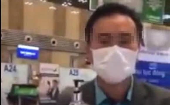 Bị hành khách nghi ngờ dung dịch sát khuẩn tay là nước lã, phía sân bay Nội Bài nói gì?