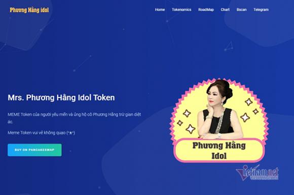 Cảnh báo tiền ảo Phương Hằng token 'ƌắt hàng' sau vụ livestream