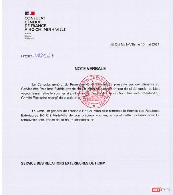 Về cuộc thi thiết kế Nhà hát ngàn tỉ, Tổng Lãnh sự quán Pháp gửi công hàm tới UBND TP.HCM ảnh 1