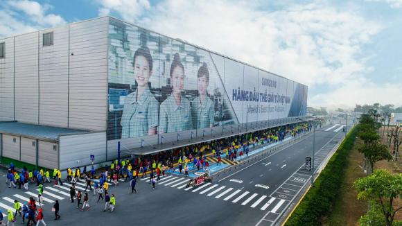 Nhà máy Samsung tại Việt Nam.