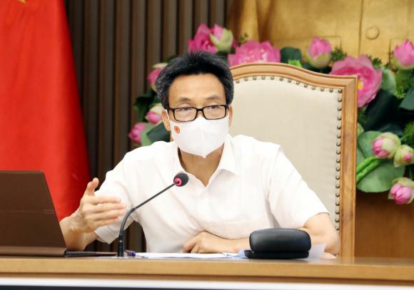 Phó Thủ tướng Chính phủ Vũ Đức Đam phát biểu chỉ đạo.