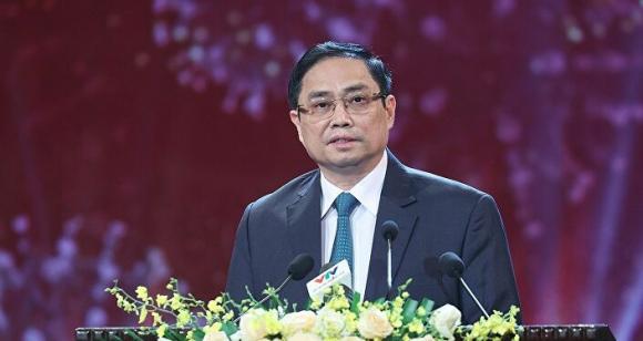 Thủ tướng Chính phủ Phạm Minh Chính dự Lễ ra mắt Qũy vaccine pʜòng COVID-19