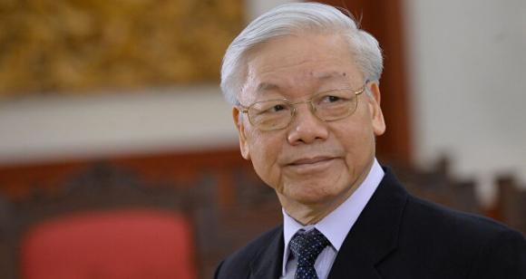Tổng Bí ᴛʜư ĐCS Việt Nam Nguyễn Phú Trọng