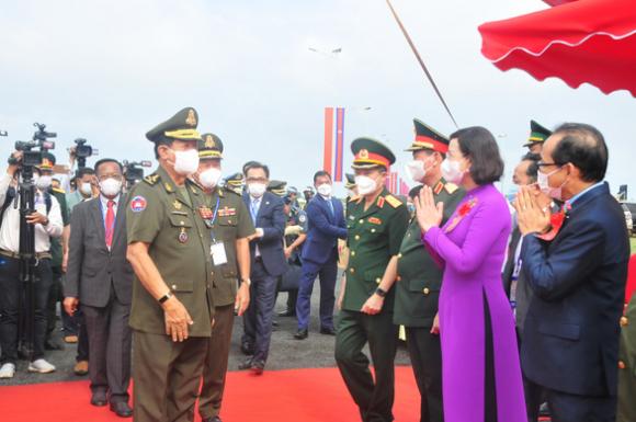 Khánh thành cụm công trình lưu niệm hành trình cứu nước của Thủ tướng Campuchia Hun Sen - Ảnh 2.