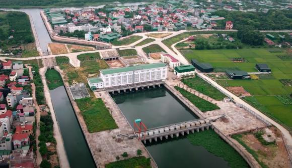 Đại dự án 7.000 tỷ đồng chống ngập cho 6 quận huyện phía Tây TP Hà Nội chậm tiến độ, ngập ngụa trong rác - Ảnh 4.