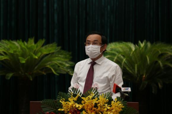 Bí thư Nguyễn Văn Nên nhắc HĐND TP HCM bài học đắt giá ở Thủ Thiêm - Ảnh 1.