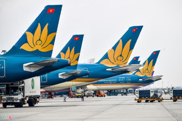vietnam airlines ban may bay anh 1