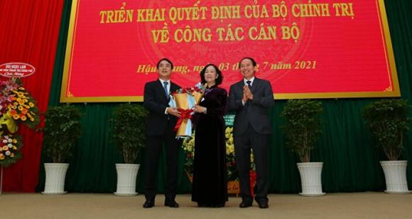 Xây dựng Đảng và hệ thống chính trị: Điều động Chủ tịch HĐQT Vietcombank Nghiêm Xuân Thành giữ chức Bí thư Tỉnh uỷ Hậu Giang
